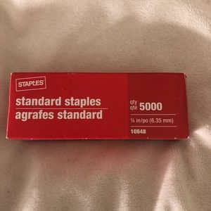 NEW Box of 5000 Staples! 🗂